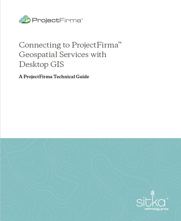 Connecting to ProjectFirma Geospatial Services with Desktop GIS Document